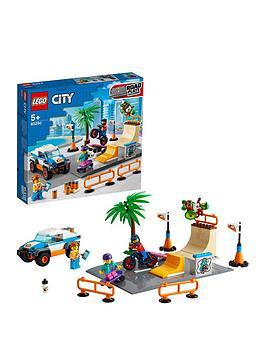 Lego City Community Skate Park Building Set 60290