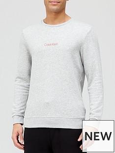 calvin-klein-lounge-sweatshirt-grey-heather
