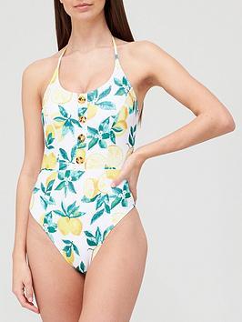 v-by-very-button-detail-halter-neck-swimsuit-printnbsp