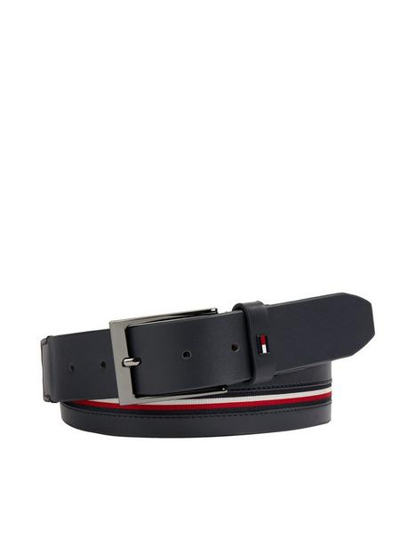 tommy-hilfiger-denton-corporate-inlay-belt-navy