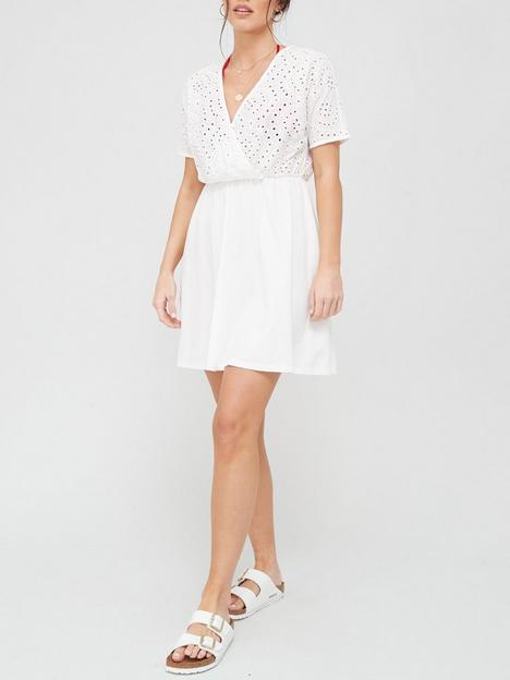 v-by-very-broderie-jersey-tunic-cover-up-white