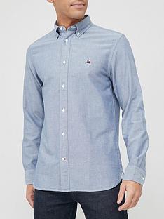 tommy-hilfiger-classic-oxford-shirt-denim-blue
