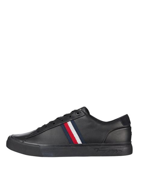 tommy-hilfiger-corporate-leather-sneaker-trainers-blacknbsp