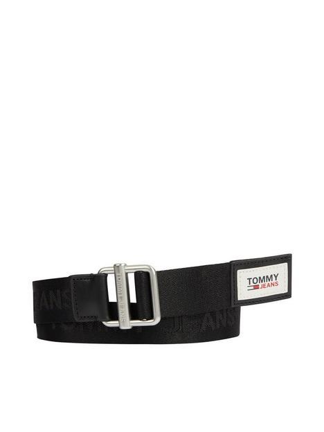 tommy-jeans-essential-webbing-belt-black