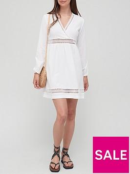 v-by-very-lace-trim-cotton-dress-white