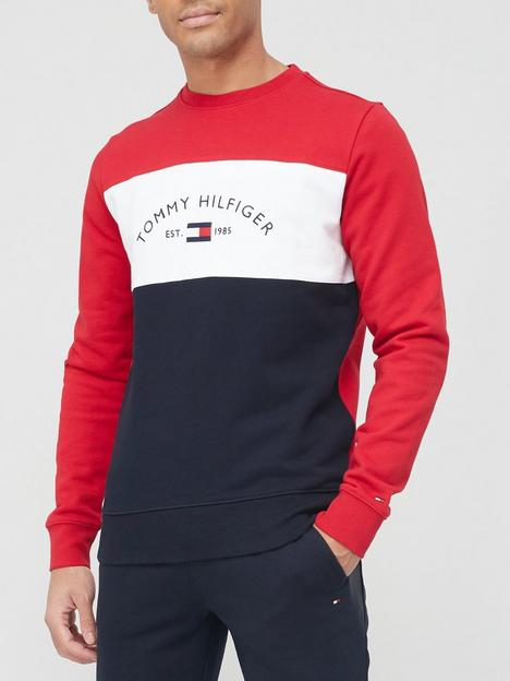 tommy-hilfiger-embroidered-signature-sweatshirt-red