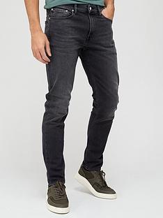 calvin-klein-jeans-slim-taper-fit-dark-wash-jeans-denim-blue