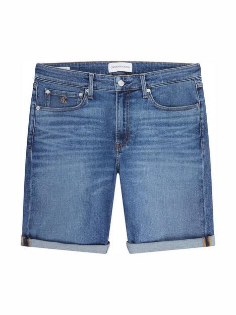 calvin-klein-jeans-regular-fit-denim-short-blue