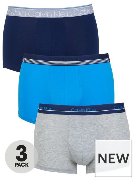 calvin-klein-trunks-3-pack-bluegreynavynbsp