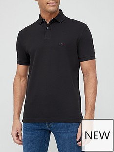 tommy-hilfiger-classic-regular-fit-polo-shirt-black