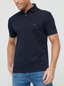 Tommy Hilfiger Classic Regular Fit Polo Shirt - Navy