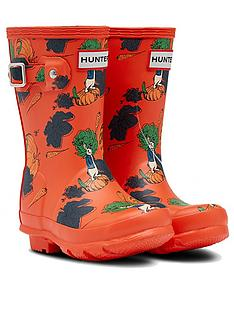 hunter-peter-rabbit-original-kids-wellington-boot-red