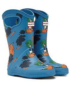 hunter-peter-rabbit-classic-pull-on-wellington-boot-blue