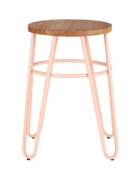 premier-housewares-district-hairpin-stool--pinkelm