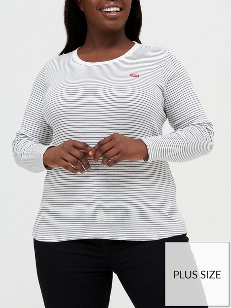 levis-plus-long-sleeve-baby-t-shirt-white