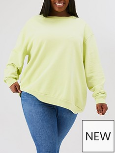 levis-plus-melrose-slouchy-crew-green