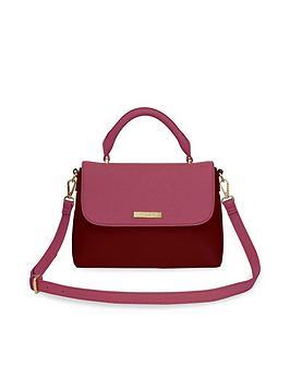 katie-loxton-talia-two-tone-crossbody-bag-burgundy
