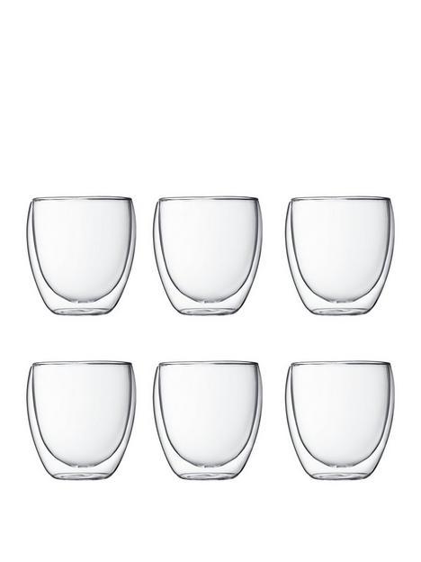 bodum-transparent-set-of-6-pavina-double-wall-glasses-250ml