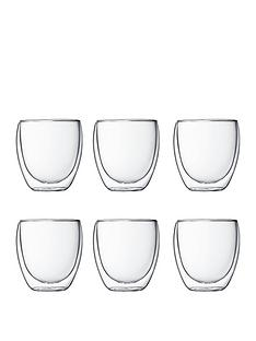 bodum-transparent-set-of-6-pavina-double-wall-glasses-250ml