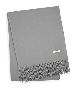 katie-loxton-thick-plain-scarf-with-gift-boxnbsp--grey