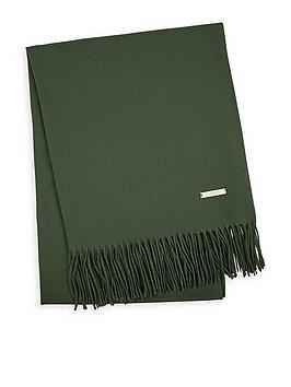 katie-loxton-thick-plain-scarf-with-gift-boxnbsp--khaki