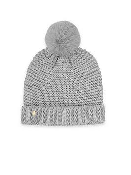 katie-loxton-chunky-knit-hat-grey