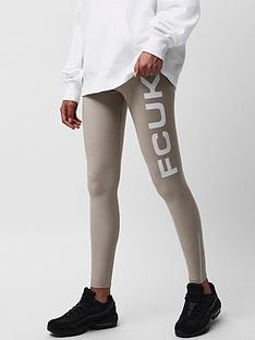 french-connection-french-connection-fcuk-core-jersey-logo-leggings