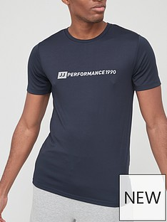 jack-jones-crew-neck-performance-tee-navy