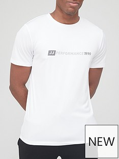 jack-jones-crew-neck-performance-tee-white