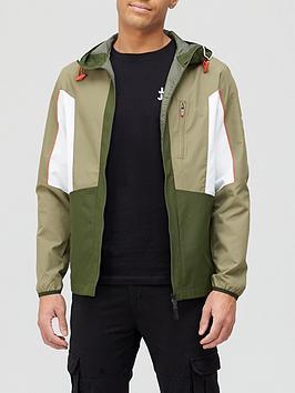 Jack & Jones Lightweight Hooded Jacket - Khaki , Khaki, Size S, Men