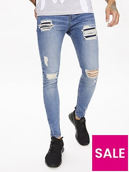 11-degrees-sustainable-distressed-jeans-mid-blue-washnbsp