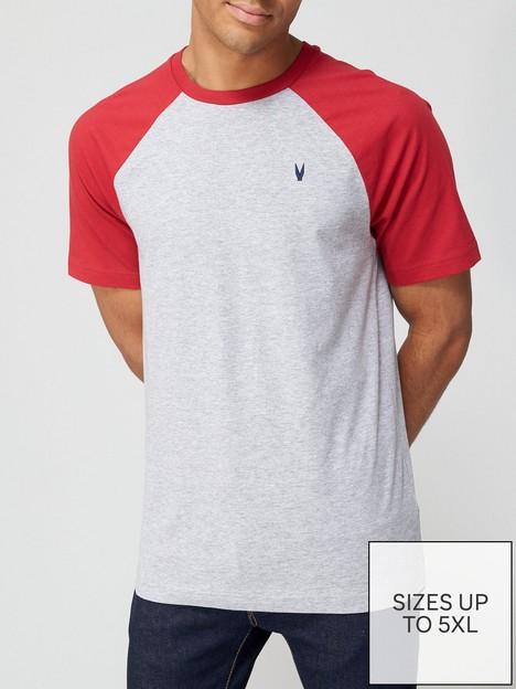 very-man-raglan-t-shirt-redgrey-marl