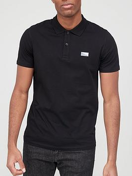 jack-jones-small-logo-polo-black