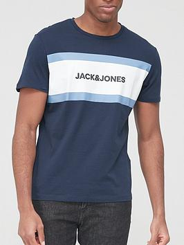 jack-jones-colour-block-logo-t-shirt-navy