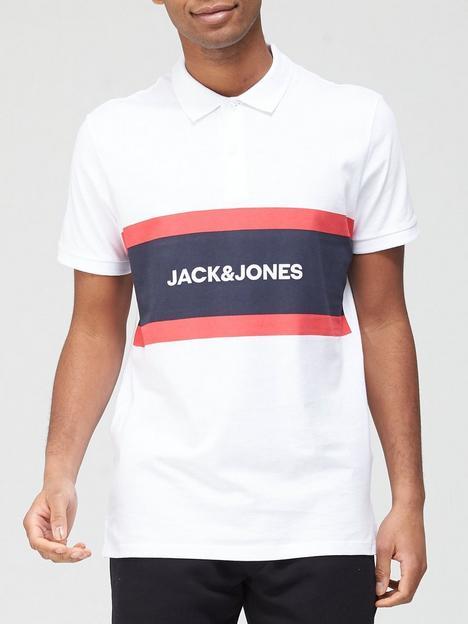 jack-jones-colour-block-polo-shirt-white