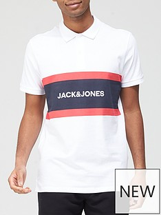 jack-jones-colour-block-polo-shirt-white