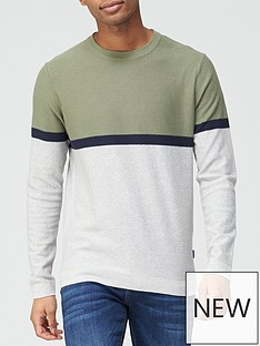 jack-jones-colour-block-knitted-jumper-multi