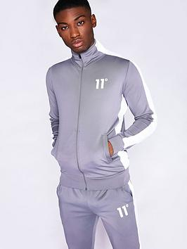 11-degrees-core-poly-full-zip-panel-track-top-greynbsp
