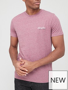 jack-jones-small-logo-marl-t-shirt-pink