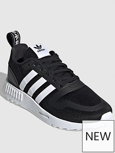 adidas-originals-smooth-runner-childrens-trainer-blackwhite