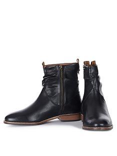 barbour-hambleden-boots-black