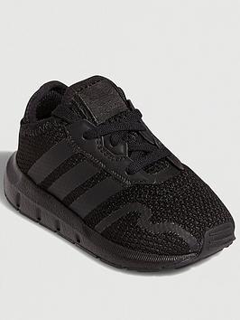 adidas-originals-swift-run-x-infants-black-black