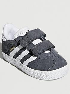 adidas-originals-gazellenbspinfants-grey-white