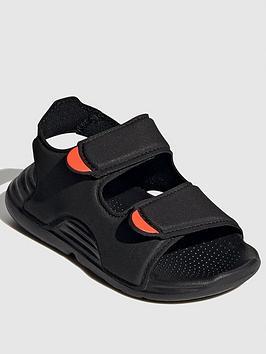 Adidas Infant's Swim Sandal - Black