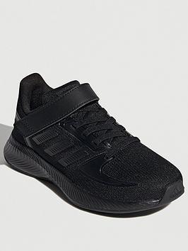 adidas-runfalcon-20-childrens-black-black