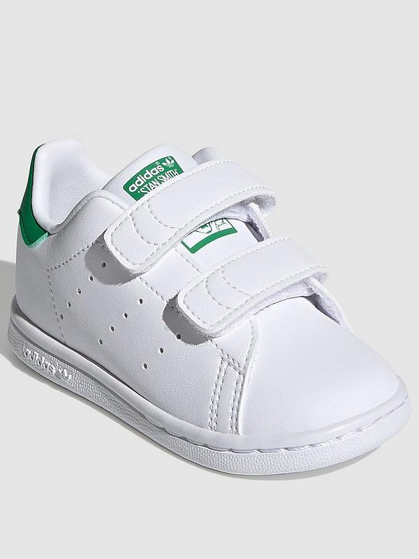 Stan Smith Infant Trainers - White/Green