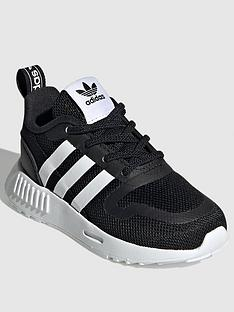 adidas-originals-smooth-runner-infants-trainer-blackwhite