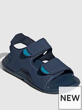 adidas-childrensnbspswim-sandalnbsp--navy