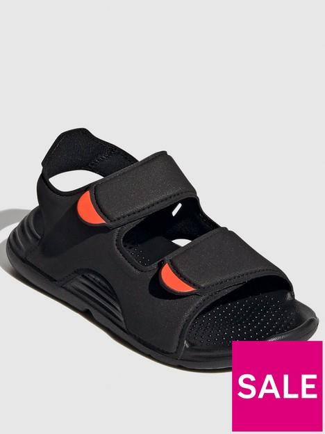 adidas-childrensnbspswim-sandal-black