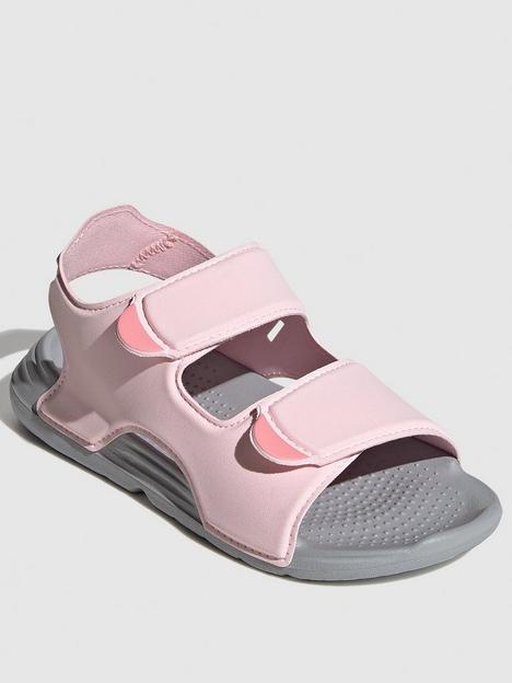 adidas-childrens-swim-sandal-pink